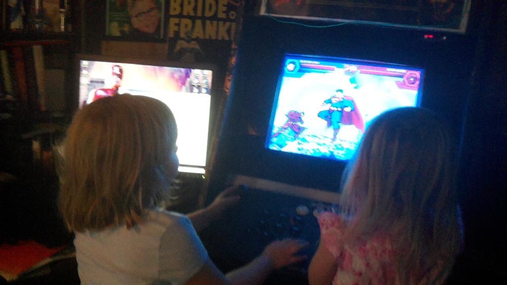 DC vs MARVEL video game (2/4)