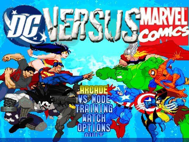 DC vs MARVEL video game (3/4)