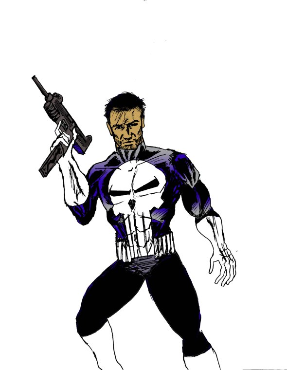 punisher color