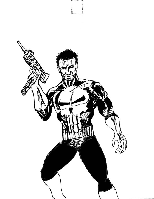 punisher inked