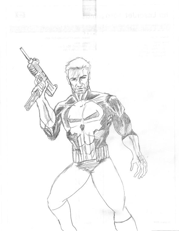 punisher pencils