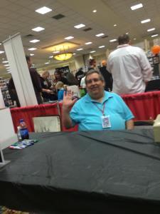 Tony Isabella greets the fans!