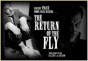 'The Return of the Fly' Vincent Price